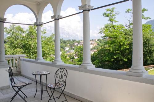 Balcone o terrazza di Trento nel verde