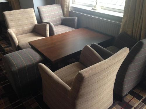 A seating area at Best Western Brome Grange Hotel