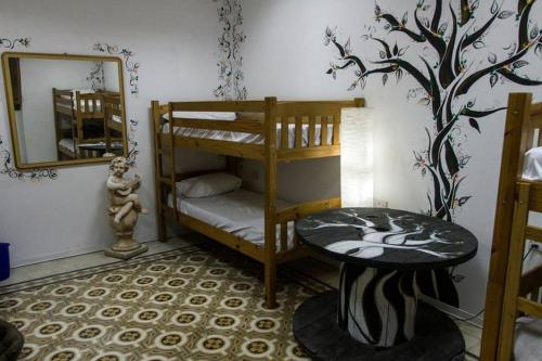A bunk bed or bunk beds in a room at Hostel Jones