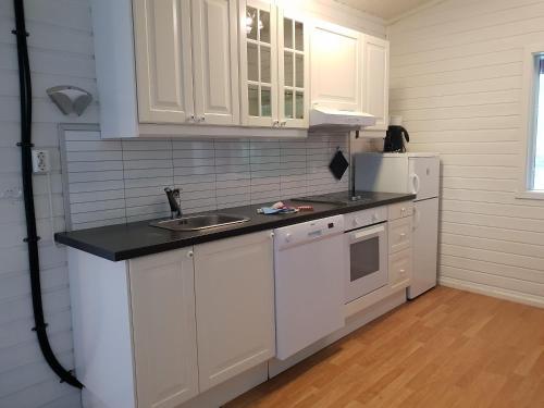 Kjøkken eller kjøkkenkrok på Døskeland