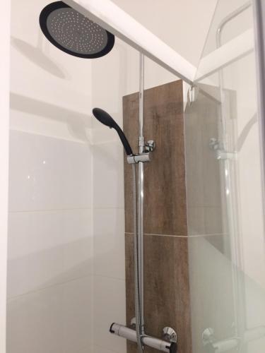 A bathroom at Appartement Domaine de la Freslonnière
