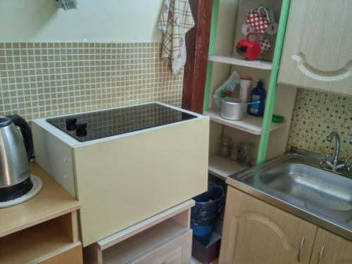 Кухня или мини-кухня в Хостел Hostel Little