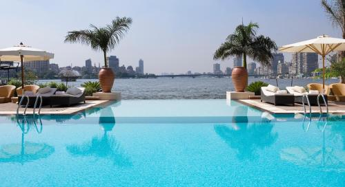 The swimming pool at or near Sofitel Cairo Nile El Gezirah
