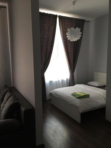 Posteľ alebo postele v izbe v ubytovaní Ametyst Hostel