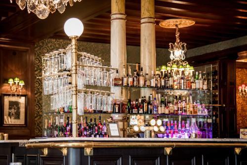 Loungen eller baren på Hotel Eggers