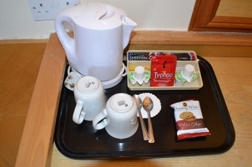 Coffee and tea-making facilities at Chichester Park Hotel
