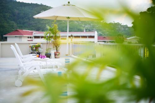 The swimming pool at or near At Kamala Hotel