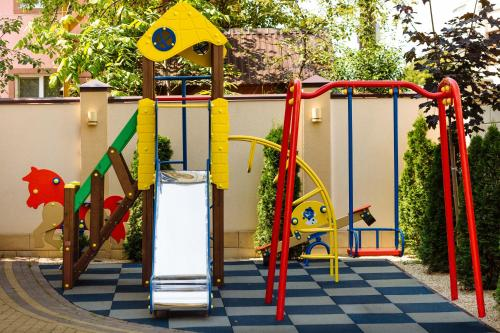 Children's play area at Galant Hotel