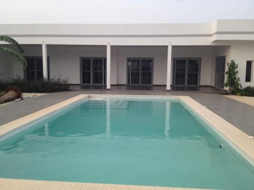The swimming pool at or near Villa neuve La Somone