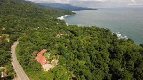 A bird's-eye view of Hotel Cuna del Angel