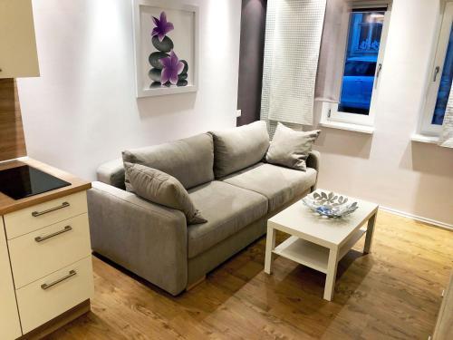 Ein Sitzbereich in der Unterkunft Haus Elisabeth