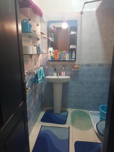 A bathroom at Mashrue Alhamd
