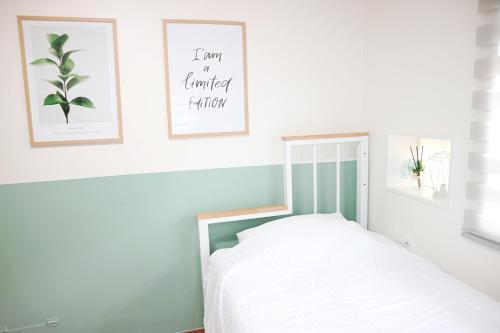 Cama o camas de una habitación en 24 Guesthouse Seoul Station