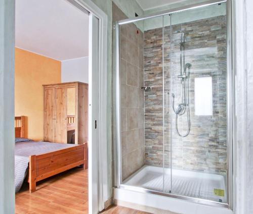 A bathroom at Vacanze a Roma