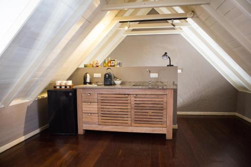 A cozinha ou cozinha compacta de Apartment in Pietermaai