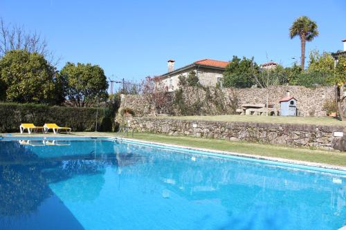 The swimming pool at or near Quinta do Sardão
