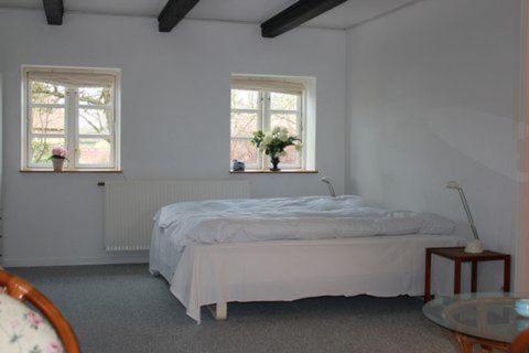 En eller flere senge i et værelse på Brittas Bed & Breakfast