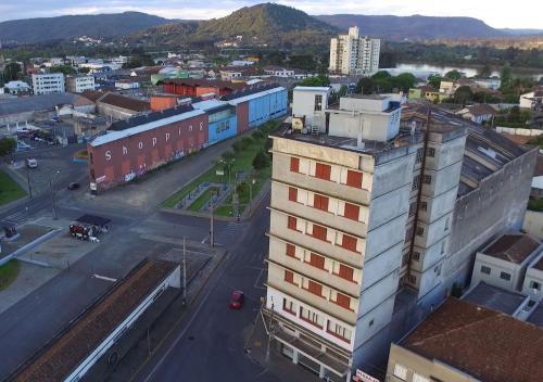 A bird's-eye view of Opera Hotel