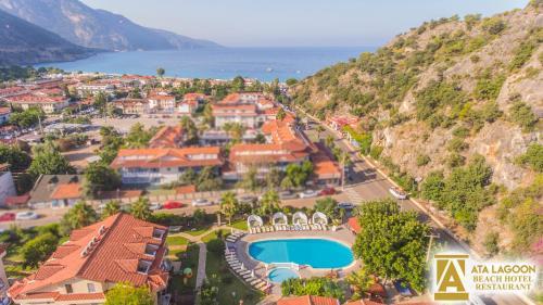 Ata Lagoon Beach Hotel a vista de pájaro
