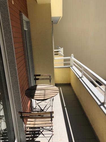 A balcony or terrace at Urbanização vila Rosa