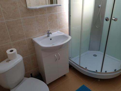 Ванная комната в Гостевой дом Чемодан