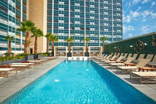 The swimming pool at or near The Statler Dallas, Curio Collection By Hilton