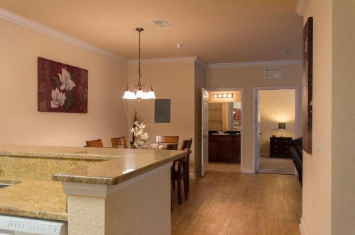 A kitchen or kitchenette at Tuscana Resort Orlando by Aston