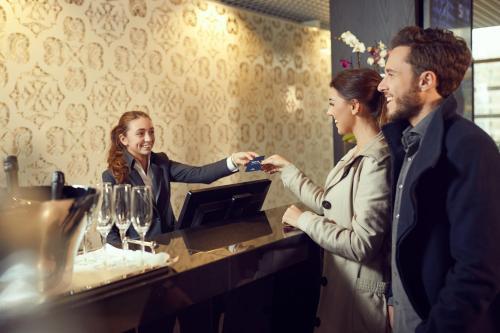 Clients de l'établissement WestCord Fashion Hotel Amsterdam