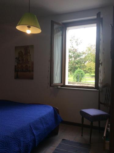 Letto o letti in una camera di casa Dolomiti