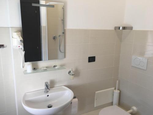A bathroom at Hotel Chopin