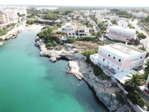 A bird's-eye view of Cala Bona y Mar Blava