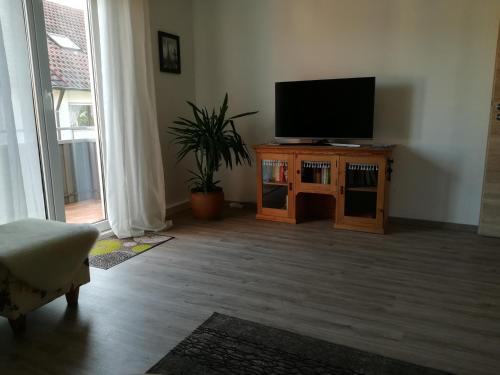 TV/Unterhaltungsangebot in der Unterkunft SchwaikApart Sonnige Ferienwohnung in Nähe der Weinberge