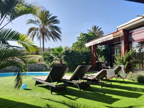 The swimming pool at or near Anfi Tauro Rentals