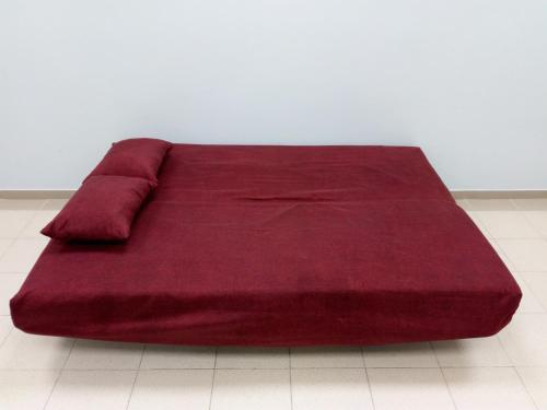 Кровать или кровати в номере Apartament on Lenina 37