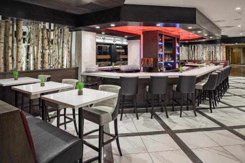 The lounge or bar area at DoubleTree by Hilton Denver
