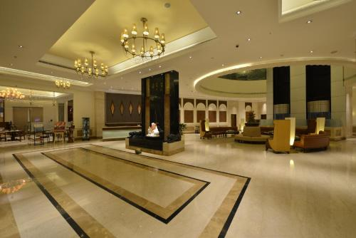 The lobby or reception area at Ramada Plaza Chennai