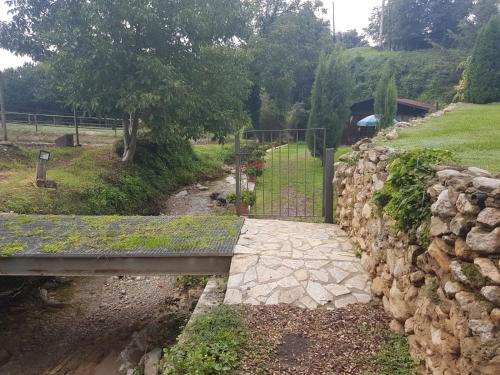 Jardín al aire libre en Casa Horta