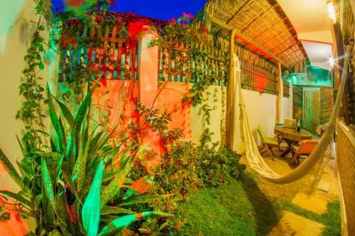 Um jardim em Beach house