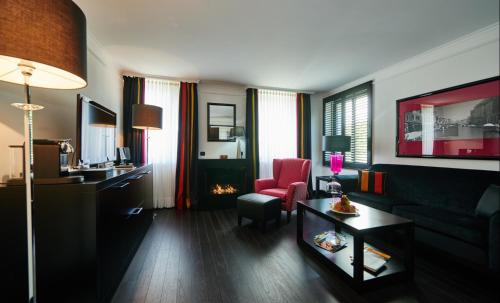 Boutique Hotel Villa am Ruhrufer Golf & Spaにあるシーティングエリア
