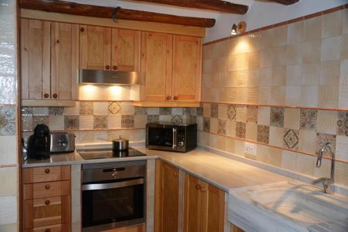 Una cocina o zona de cocina en Cal Triquell