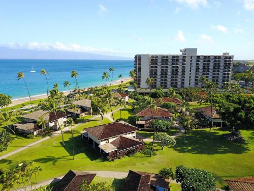 A bird's-eye view of Royal Lahaina Resort