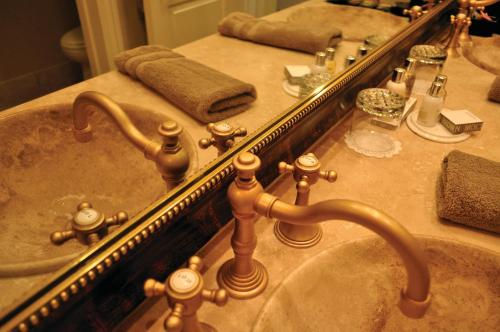 A bathroom at The Villa at Arden Hills