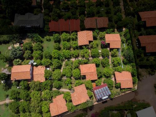 Baraka House с высоты птичьего полета