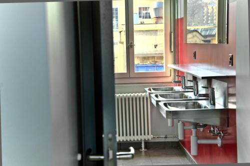 Küche/Küchenzeile in der Unterkunft Depot 195 - Hostel Winterthur
