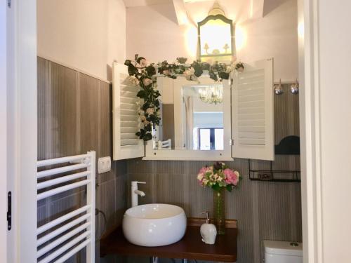 A bathroom at Hotel Rural Doña Palmira
