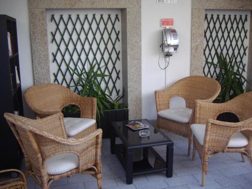 A seating area at Hotel Grande Rio