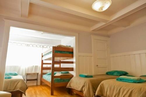 A bunk bed or bunk beds in a room at Orange Drive Hostel