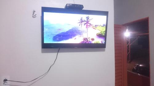 A television and/or entertainment center at Hotel paraiso