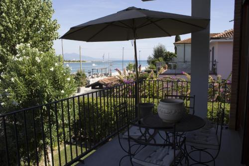 Balcone o terrazza di Villa alla foce del fiume Magra Cinque Terre
