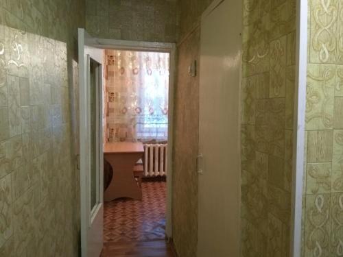 A bathroom at Apartment Zyryanovsk on Frunze 53
